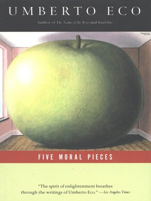 cover image of Five Moral Pieces