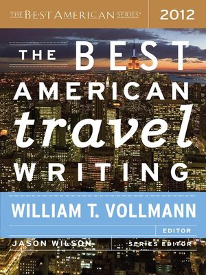 cover image of The Best American Travel Writing 2012