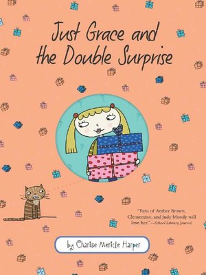 cover image of Just Grace and the Double Surprise