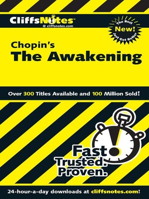 cover image of CliffsNotes on Chopin's The Awakening