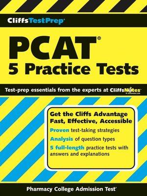 pcat pharmacy college admission test flashcard book pcat test preparation