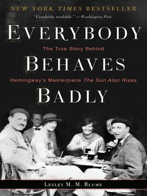 cover image of Everybody Behaves Badly