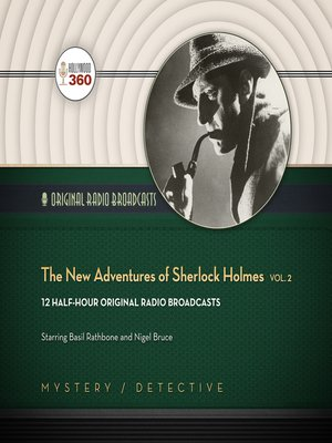 cover image of The New Adventures of Sherlock Holmes, Volume 2