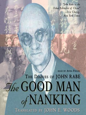 cover image of The Good Man of Nanking