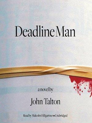 cover image of Deadline Man