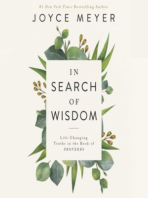 cover image of In Search of Wisdom