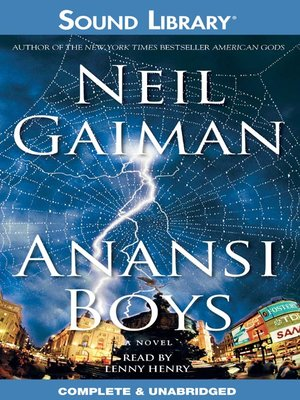 cover image of Anansi Boys