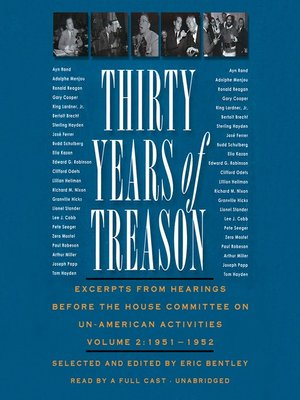 cover image of Thirty Years of Treason, Volume 2