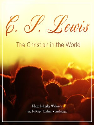 cover image of The Christian in the World