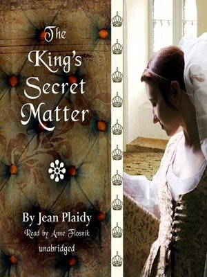 cover image of The King's Secret Matter