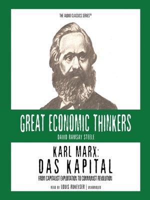 cover image of Karl Marx: Das Kapital
