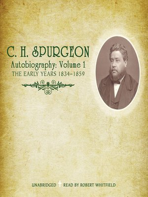 cover image of C. H. Spurgeon Autobiography, Volume 1