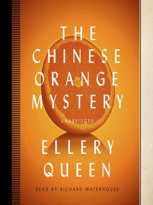cover image of The Chinese Orange Mystery