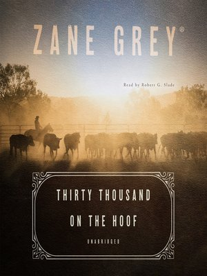 cover image of Thirty Thousand on the Hoof