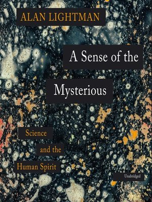 cover image of A Sense of the Mysterious