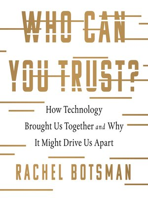 cover image of Who Can You Trust?