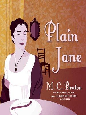 cover image of Plain Jane