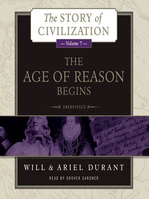 cover image of The Age of Reason Begins