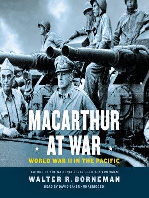 cover image of MacArthur at War