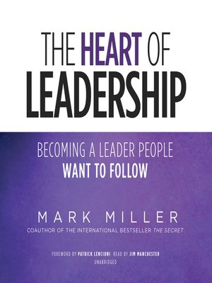 cover image of The Heart of Leadership