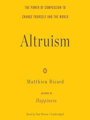 cover image of Altruism