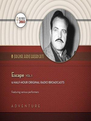 cover image of Escape, Volume 1