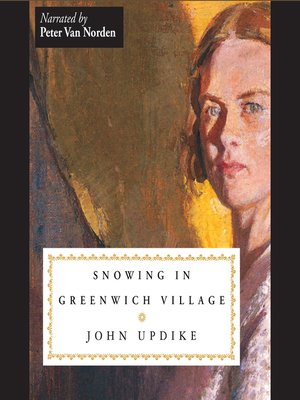 cover image of Snowing in Greenwich Village