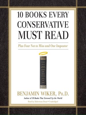 cover image of 10 Books Every Conservative Must Read