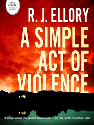 cover image of A Simple Act of Violence