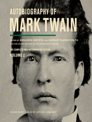cover image of Autobiography of Mark Twain, Volume 2