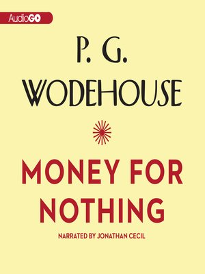 cover image of Money for Nothing