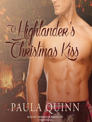 cover image of A Highlander's Christmas Kiss
