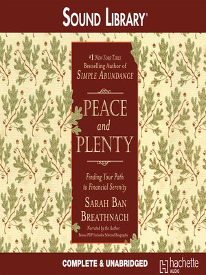 cover image of Peace and Plenty