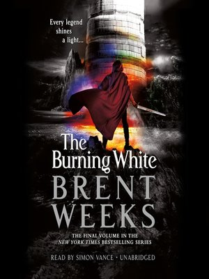 cover image of The Burning White