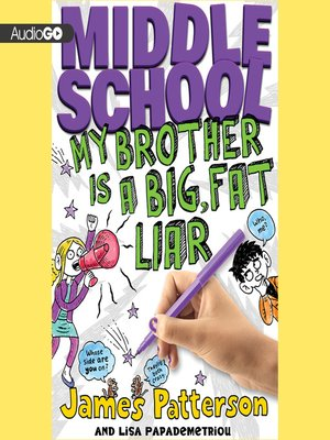 cover image of My Brother Is a Big, Fat Liar