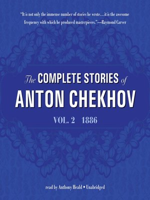 cover image of The Complete Stories of Anton Chekhov, Volume 2