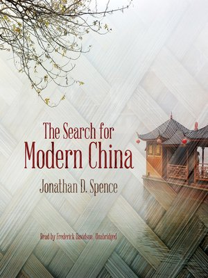 cover image of The Search for Modern China