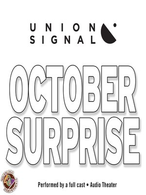cover image of October Surprise