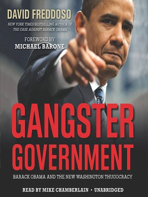 cover image of Gangster Government