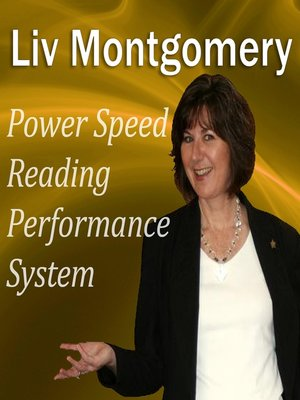cover image of Power Speed-Reading Performance System