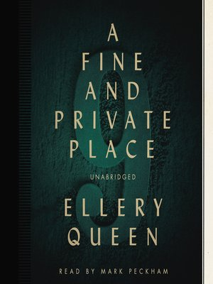 cover image of A Fine and Private Place