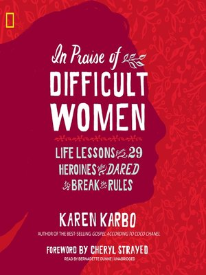 cover image of In Praise of Difficult Women