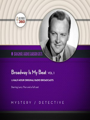 cover image of Broadway Is My Beat, Volume 1