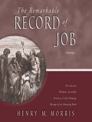 cover image of The Remarkable Record of Job