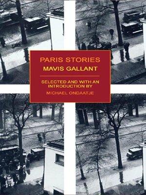 cover image of Paris Stories