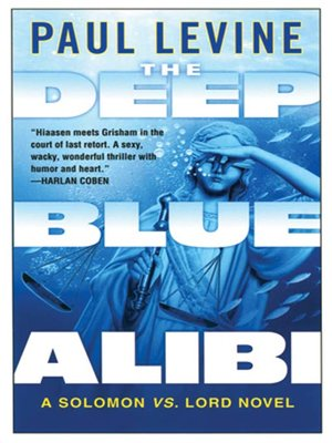 cover image of The Deep Blue Alibi