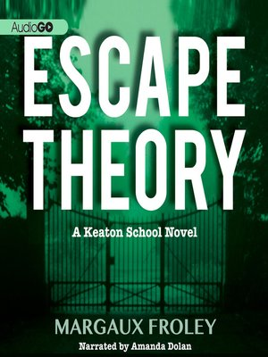 cover image of Escape Theory