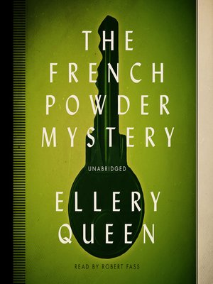 cover image of The French Powder Mystery