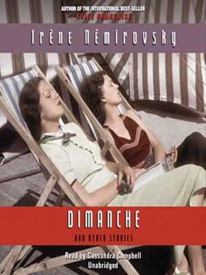 cover image of Dimanche and Other Stories