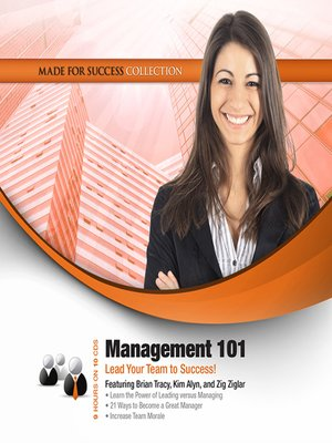 cover image of Management 101